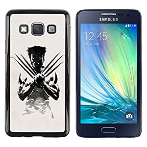 LOVE FOR Samsung Galaxy A3 X Claw Superhero Personalized Design Custom DIY Case Cover