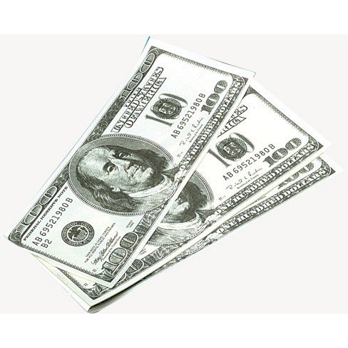 Lot of 12 Giant $100 Bill Notebook Memo Pads US Toy