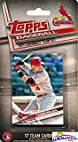 St. Louis Cardinals 2017 Topps Baseball EXCLUSIVE Special Limited Edition 17 Card Complete Team Set with Yadier Molina, Aledmys Diaz & Many More Stars & Rookies! Shipped in Bubble Mailer! WOWZZER!