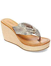 Peggy Womens Trendy Wedge Sandals - Casual & Comfortable & Fashion - Perfect Dress Shoes for Spring/Summer