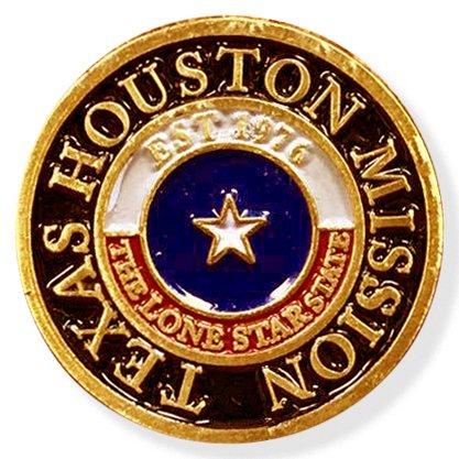 LDS Texas Houston Mission Commemorative Lapel ()