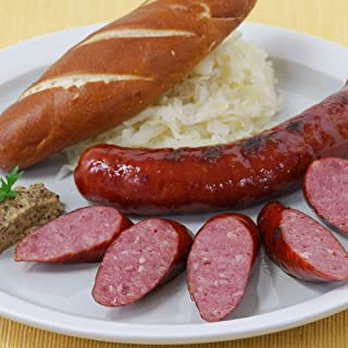 product image for Hickory Smoked Wild Boar Bratwurst - 1 lb pack - 4 links