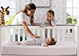 Serta Pedic Petals Crib and Toddler Mattress, Pink