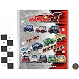 Street Machines - 12 Piece Pull Back Micro Cars by Street Machines