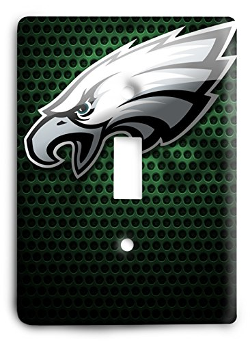 NFL Come Hard Eagles Light Switch Cover