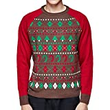 Blueberry Pet Ugly Christmas Men's Women's Holiday Festive Pullover Crewneck Sweater, Sweaters for Men or Women, Medium