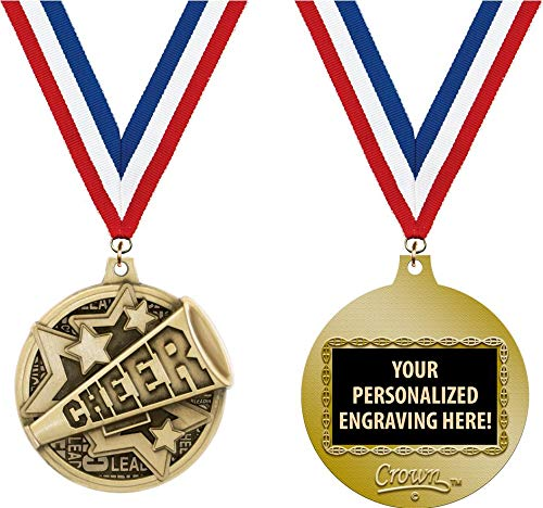 Crown Awards Custom Cheerleading Medals, 2