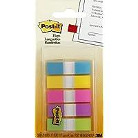 Post-it Index Mini 6835CBEU Zelfklevende notitieblaadjes in 11,9 x 43,1 mm – 5 plakstrips blokken à 20 vellen in 5…
