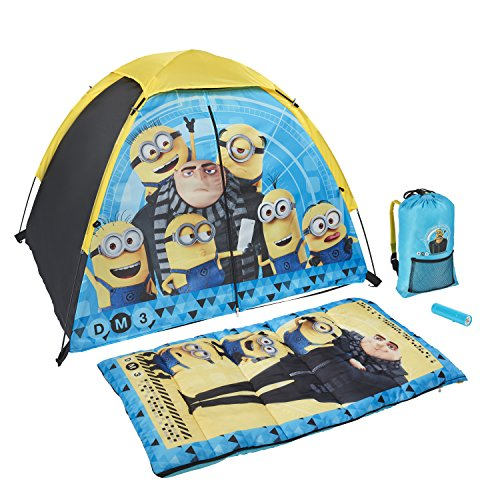 Exxel Outdoors Illumination Despicable Me 3 Kids 4-Piece Sling Kit -