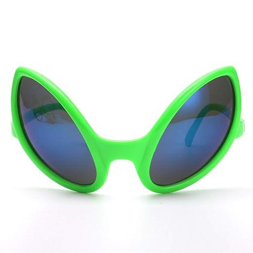 FXCO Funny Party - Gafas de sol para fiesta de disfraz de Alien ...