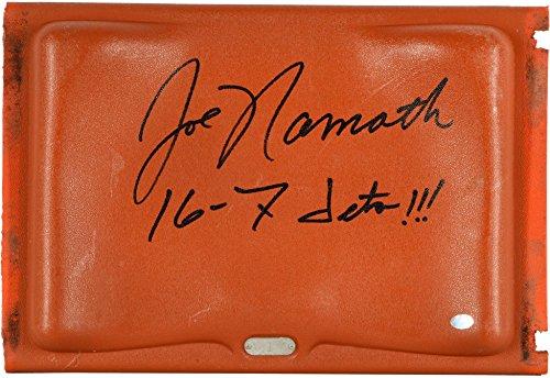 Joe Namath New York Jets Autographed Orange Bowl Seat with Multiple Inscriptions - Fanatics Authentic Certified