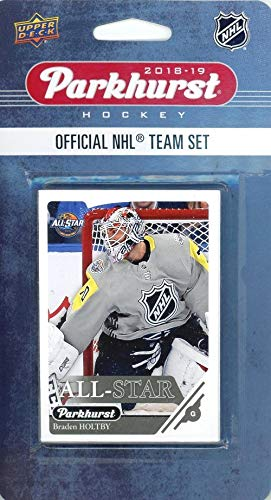 2018/19 Upper Deck Parkhurst NHL Hockey EXCLUSIVE Limited Edition EAST ALL-STAR Factory Sealed 10 Card Set with Alexander Ovechkin, Sidney Crosby, Jack Eichel, Auston Matthews & More! WOWZZER!