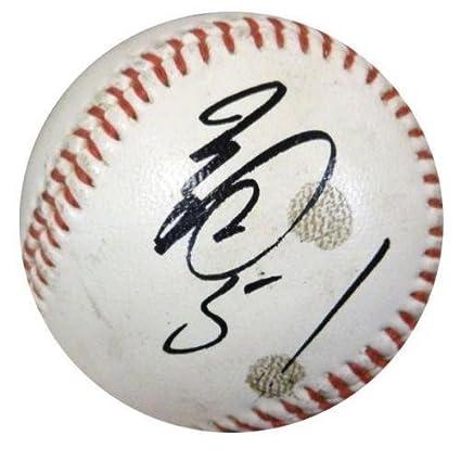 Ichiro Suzuki Autographed Baseball - Orix Blue Wave Vintage #Z05264