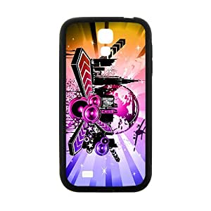 Shining City Graffiti Hot Seller High Quality Case Cove For Samsung Galaxy S4