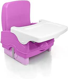 Cadeira de Refeição Portátil Smart Cosco - Rosa