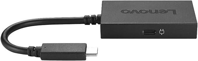 Lenovo Usb C Auf Hdmi Adapter Mit Integriertem Netzteil Elektronik