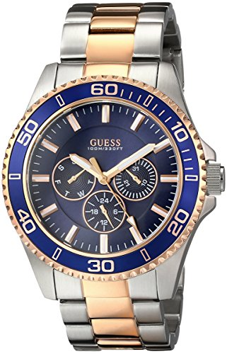GUESS U0172G3 Two Tone Gold Tone Multi Function