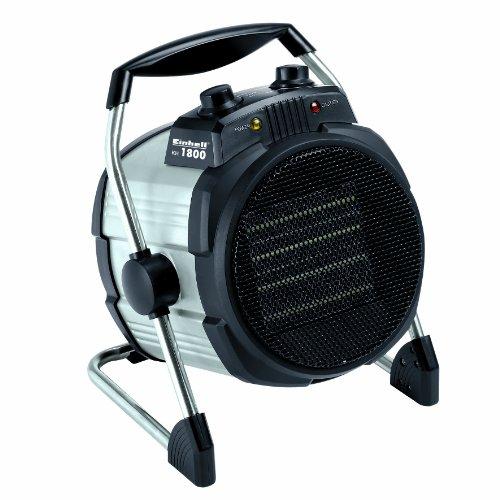 Einhell Heizlüfter KH 1800 (1800 Watt, 2 Heizstufen,Ventilatorbetrieb, 3-fach neigbar, Thermostat, PTC-Heizelement)