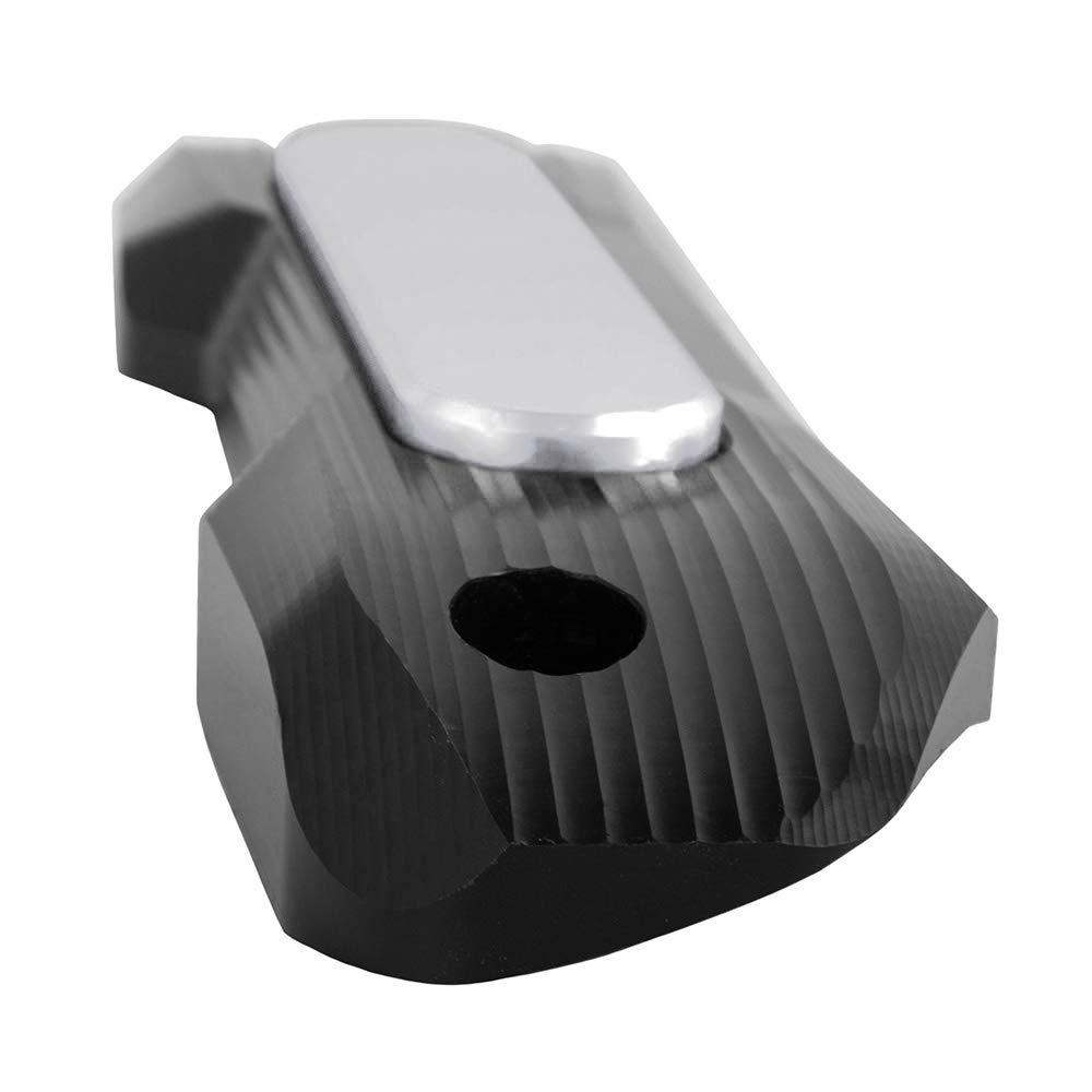 Scudo termico in alluminio CNC guardia decorativa per Yamaha Tmax 530 SX//DX 2017-2018 Nero Copri tubo di scarico moto