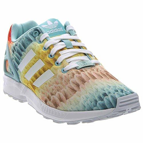 Scarpe Da Running Adidas Zx Flux Da Donna Menta / Bianco / Verde