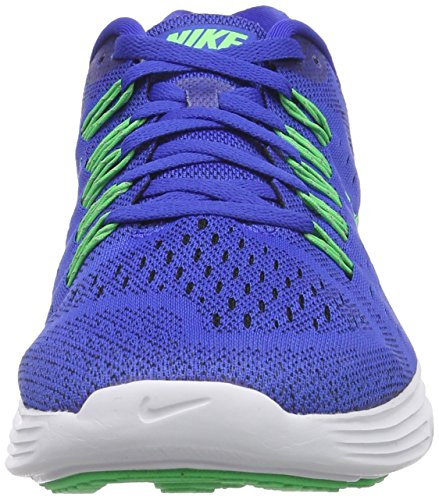 Nike Lunartrainer - Zapatillas Hombre Azul (Lyon Blue / Poison Green / White / Black)