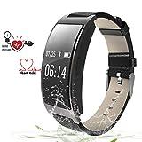 ZEERKEER Fitness Tracker HR, Activity Tracker Watch with Heart Rate Monitor, IP67 Waterproof
