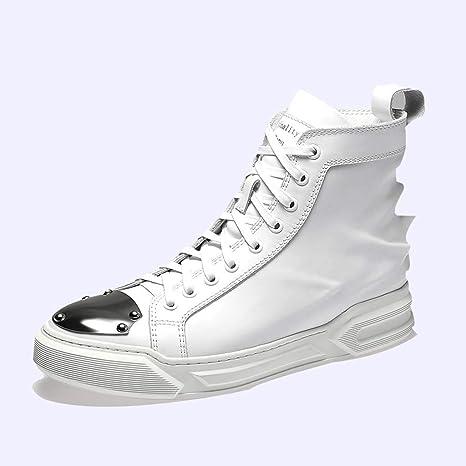 HRN Zapatos de impresión 3D para Hombres Zapatillas de Cuero ...