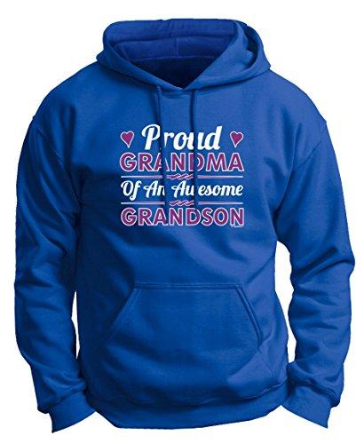 Grandma Awesome Grandson Premium Sweatshirt