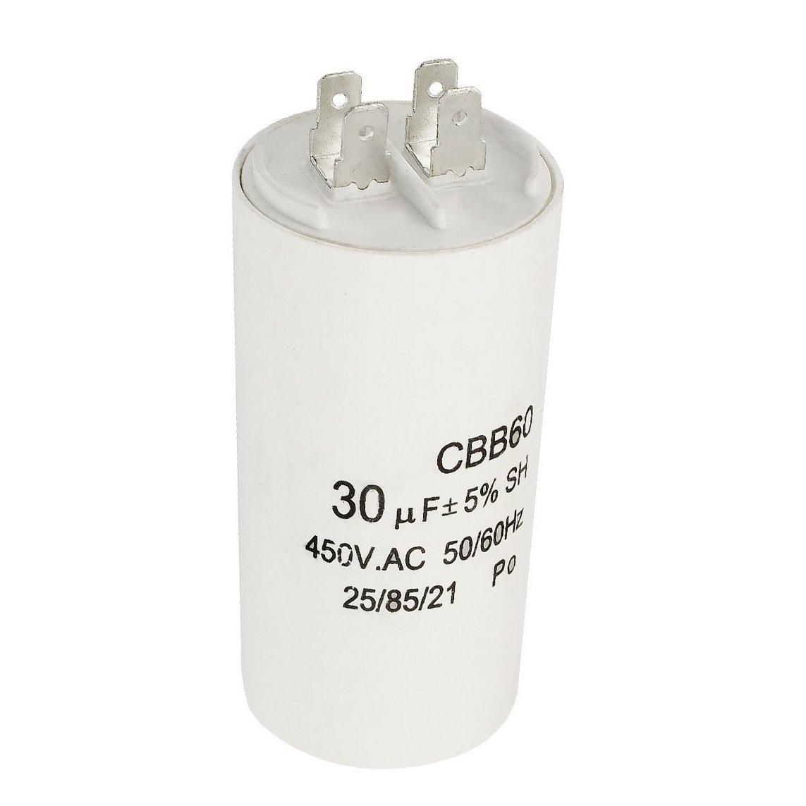 CBB60 AC 450 V 50/60 hz 30 uf in polipropilene pellicola funzionamento del motore condensatore TOOGOO(R) 032144