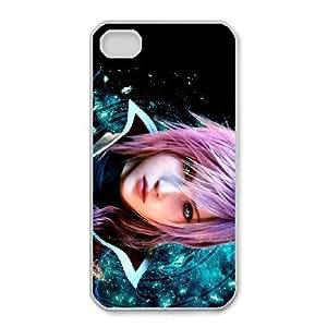 iphone4 4s Phone Case White Eclair Farron Final Fantasy UYUI6799814