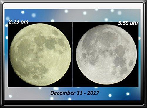Lunar phase December 31 - 2017  Full Moon .