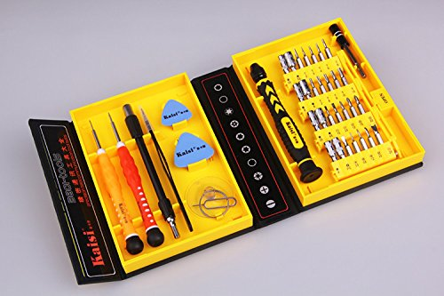 Kit Repair Roto - Roto - 38 in 1 Multi Repair Tool Box Magnetic Opening Tools Kit Screwdriver for Cell Phones Iphone 4 5s Notebook Mp3 Laptop