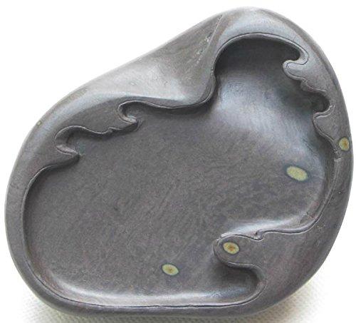 Chinese Zhaoqing Duan Yan Ink Stone Meihua Keng inkstone 12x11x4.3cm by Wisdom China Ink Stone