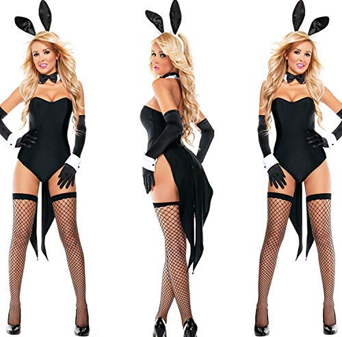Cosplay Sexy Lingerie Halloween Costume Rabbit Sexy Cute Bunny Costume Rave Party Theme Masquerade Accessories]()