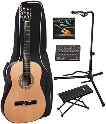 Classic Cantabile AS-851 guitarra de concierto 7/8 Set: Amazon.es ...