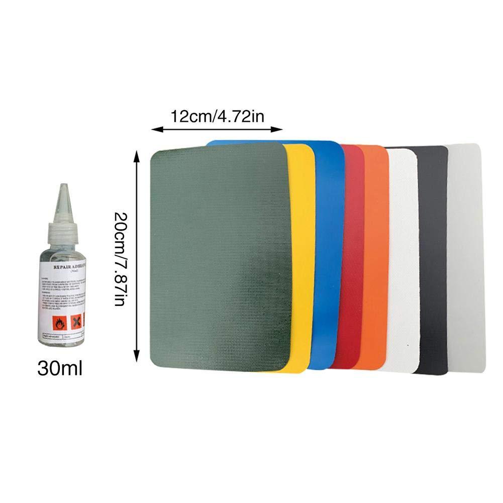 yummyfood 6PCS PVC Patch Repair Kit, Puncture Repair Kit