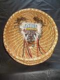 Pine Needle Indian Chief BASKET