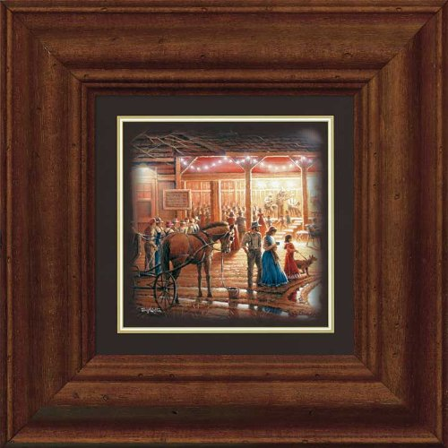 Harvest Moon Ball - Shall We Dance Framed Print by Terry Redlin