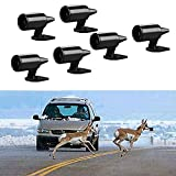 Deer Alert for Vehicles, Avoids Deer Collisions Car Deer Warning, Ultrasonic Wildlife Warning for Motorcycle,Car, Truck SUV (6pcs)