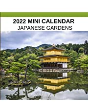 2022 Mini Calendar : JAPANESE GARDENS: Monthly from January to December with 1 page per month with photo and note space. Christmas gift idea.