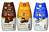 SweetLeaf Sweet Drops Liquid Stevia (3 Variety Pack) (Original Version)