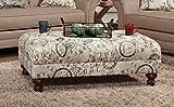 Serta Upholstery 8750OT 8750OT05 Restoration Style Ottoman in Timeless, Patina