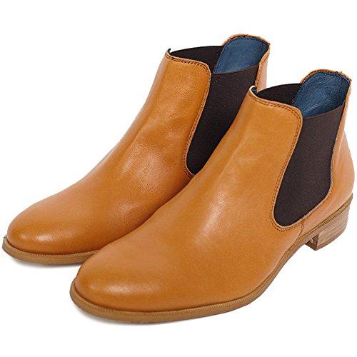 Les Chausseurs Ankel-Boots RAZIO Camel Camel IQoviDEP