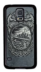 Battleship Custom Samsung Galaxy S5/Samsung S5 Case Cover Polycarbonate Black