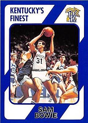 Sam Bowie Basketball Card (Kentucky Wildcats) 1989 Collegiate Collection #124