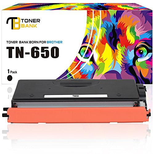 Toner Bank Compatible Toner Cartridge for Brother TN650 TN580 Replace for Brother MFC-8480DN MFC-8690DW MFC-8890DW MFC-8680DN HL-5370DW HL-5340D DCP-8065DN HL-5240 HL-5250DN Mono Laser Toner Cartridge