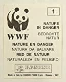 1987 Panini World Wildlife Fund (WWF) Sticker Set