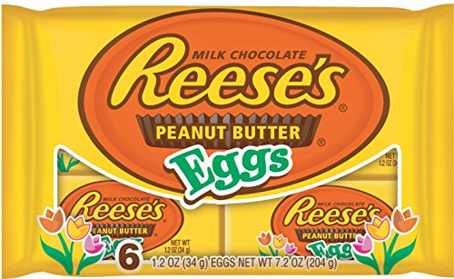 UPC 034000476039, Reese's Easter Peanut Butter Eggs,1.2 oz 6-Count Packages (Pack of 4)