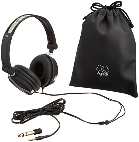 AKG K81DJ Closed-Back Folding DJ Headphone (Discontinued by Manufacturer) (Akg Folding Headphones)