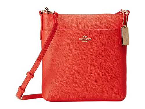 NEW AUTHENTIC COACH CROSSGRAIN TEXTURED LEATHER COURIER CROSSBODY SWINGPACK (Watermelon) by Coach